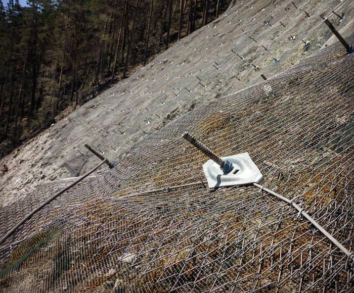 High Tensile Rockfall Net
